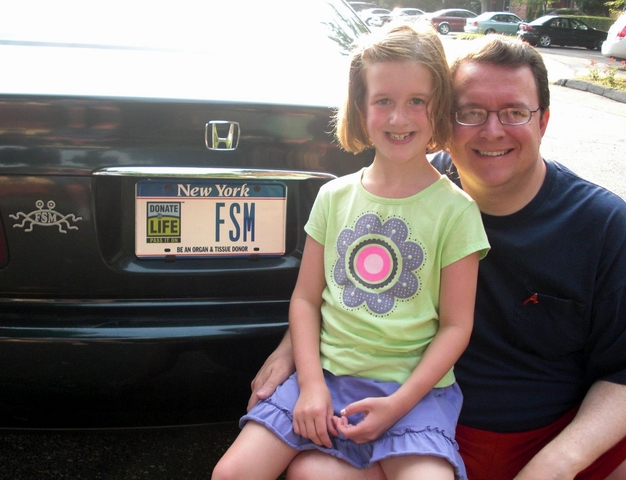 FSM license plate